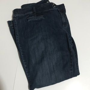 1b7fad4413668 Old Navy. Old Navy low waist stretch wide leg jeans